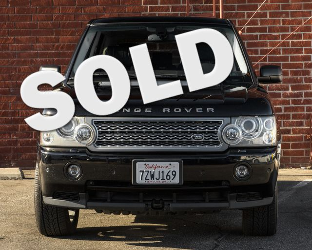 2008 Land Rover Range Rover SC Burbank, CA