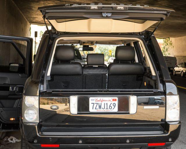 2008 Land Rover Range Rover SC Burbank, CA 22