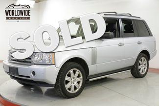 2008 Land Rover RANGE ROVER 4X4 LOW MILEAGE V8   Denver, CO   Worldwide Vintage Autos in Denver CO