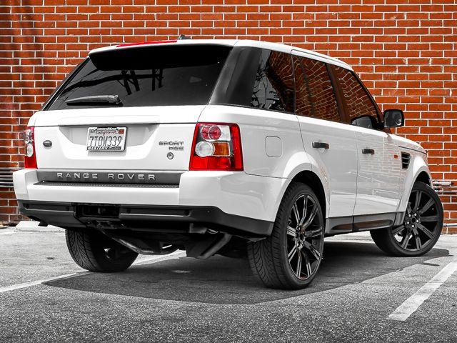 2008 Land Rover Range Rover Sport HSE Burbank, CA 4