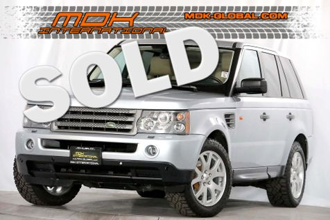 2008 Land Rover Range Rover Sport HSE in Los Angeles