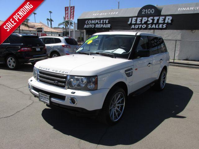 2008 Land Rover Range Rover Sport HSE in Costa Mesa, California 92627