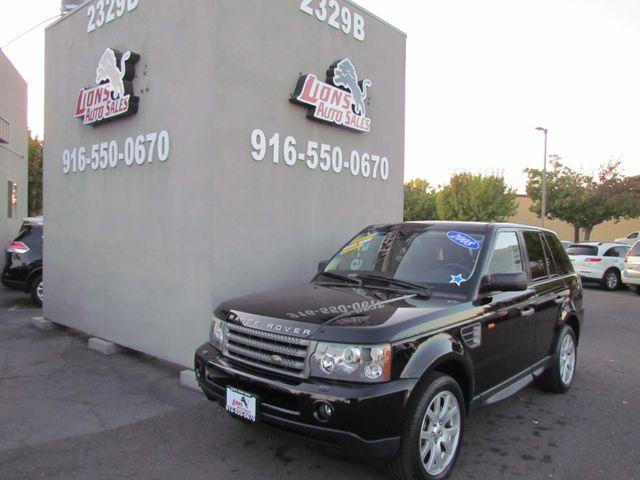 2008 Land Rover Range Rover Sport HSE in Sacramento, CA 95825