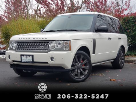 2008 Land Rover Range Rover Supercharged 400HP Luxury Performance 4 Wheel Drive Great Value in Seattle