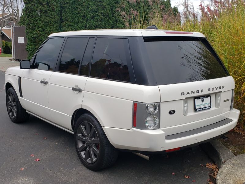 2008 Land Rover Range Rover Supercharged 400HP Luxury Performance 4 Wheel Drive Great Value  city Washington  Complete Automotive  in Seattle, Washington