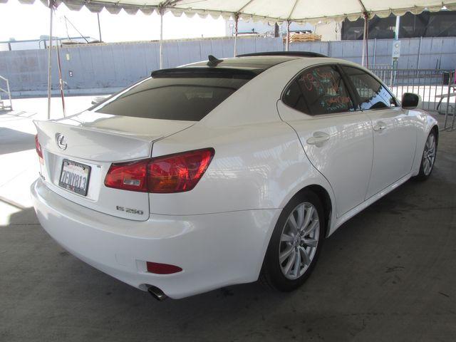 2008 Lexus IS 250 Gardena, California 2