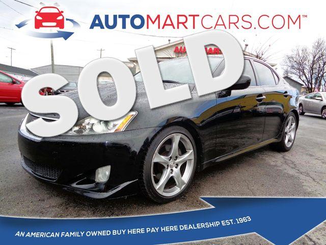 2008 Lexus IS 250  | Nashville, Tennessee | Auto Mart Used Cars Inc. in Nashville Tennessee