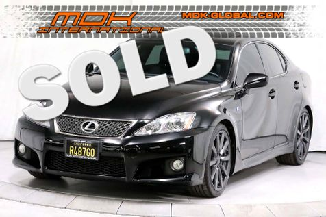 2008 Lexus IS F - Navigation - Mark Levinson - Service Records  in Los Angeles