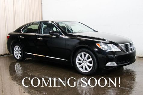 2008 Lexus LS460 w/Navigation, Backup Cam, Heated & Ventilated Seats and Rear Heated Seats in Eau Claire