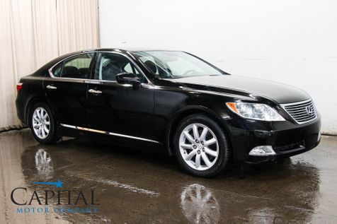 2008 Lexus LS460 V8 Luxury Car w/NAVI, Backup Cam, Heated/Cooled Seats and Mark Levinson Sound System in Eau Claire