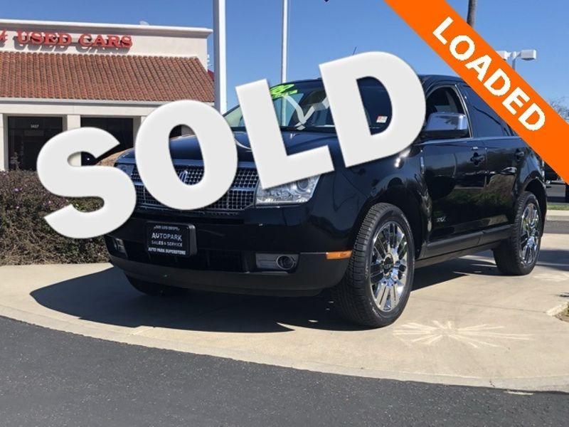 2008 Lincoln MKX Base | San Luis Obispo, CA | Auto Park Sales & Service in San Luis Obispo CA