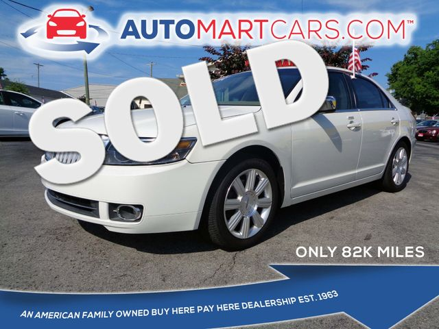 2008 Lincoln MKZ    Nashville, Tennessee   Auto Mart Used Cars Inc. in Nashville Tennessee