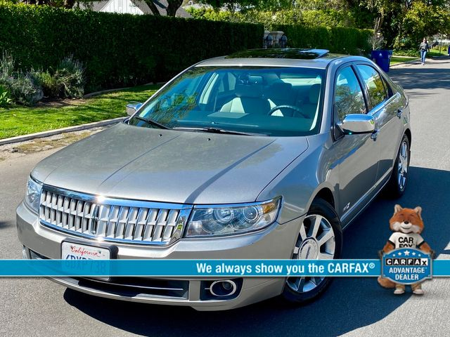 2008 Lincoln MKZ SEDAN 74K MLS NAVIGATION 1-OWNER SERVICE RECORDS NEW TIRES