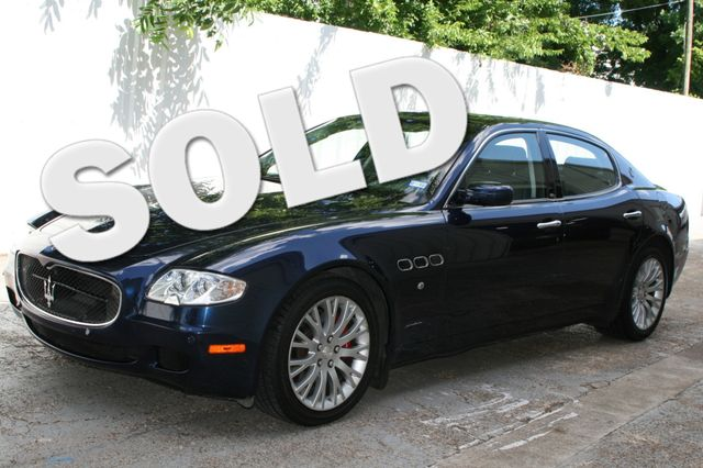 2008 Maserati Quattroporte Houston, Texas 1
