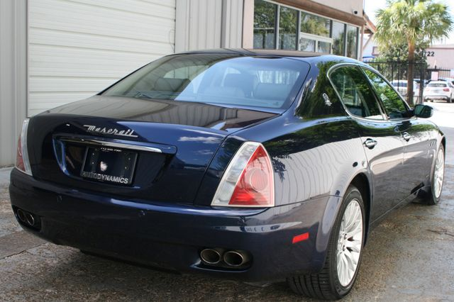 2008 Maserati Quattroporte Houston, Texas 5