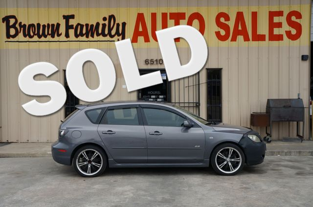 2008 Mazda Mazda3 s GT *Ltd Avail* | Houston, TX | Brown Family Auto Sales in Houston TX