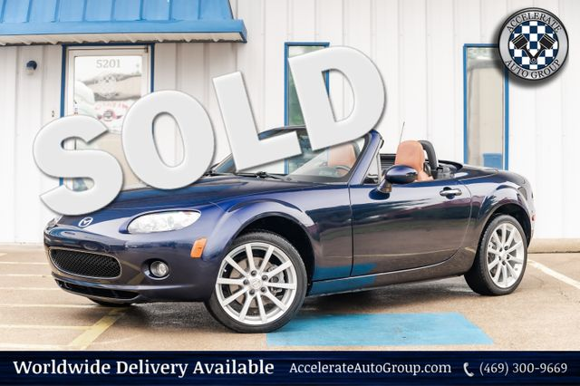 2008 Mazda MX-5 Miata GRAND TOURING CONVERTIBLE LEATHER AUTO TRANS in Rowlett