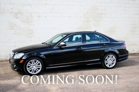 2008 Mercedes-Benz C300 Sport 4Matic AWD Luxury Car w/Moonroof, Heated/Power Seats, Bluetooth and Satellite Radio in Eau Claire
