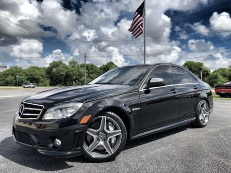 2008 Mercedes-Benz C63 C63 AMG V8 BLACK/BLACK CARFAX CERT 2 OWNER in , Florida