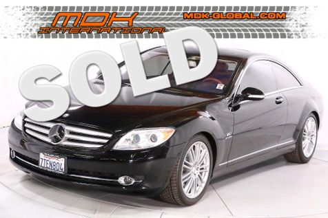 2008 Mercedes-Benz CL600 V12 twin turbo - service records in Los Angeles