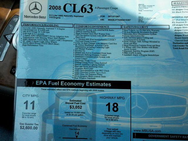 2008 Mercedes-Benz CL63 Renntech V8 AMG San Antonio, Texas 49
