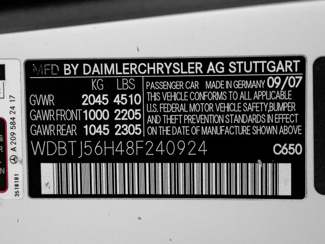 2008 Mercedes-Benz CLK350 3.5L Burbank, CA 24