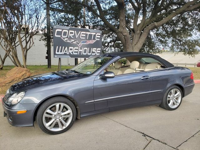 2008 Mercedes-Benz CLK350 Convertible 3.5L, Auto, NAV, Alloy Wheels, Nice
