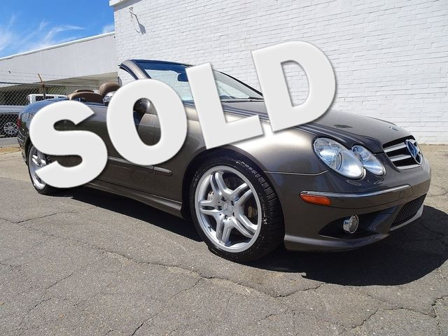 2008 Mercedes-Benz CLK550 5.5L Madison, NC 0