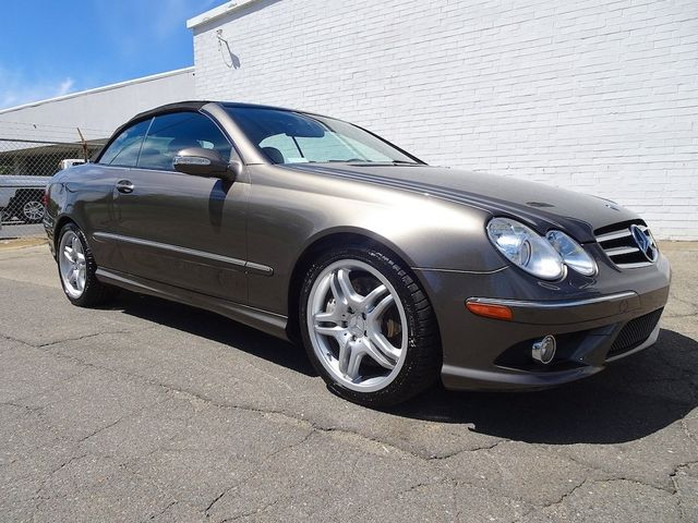 2008 Mercedes-Benz CLK550 5.5L Madison, NC 1