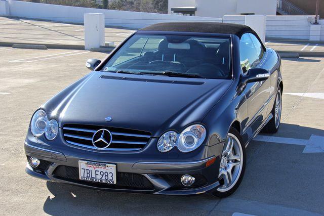 2008 Mercedes-Benz CLK550 5.5L Reseda, CA 1