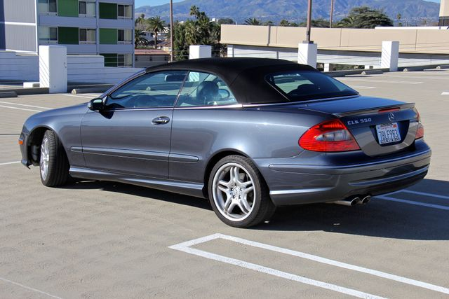 2008 Mercedes-Benz CLK550 5.5L Reseda, CA 5