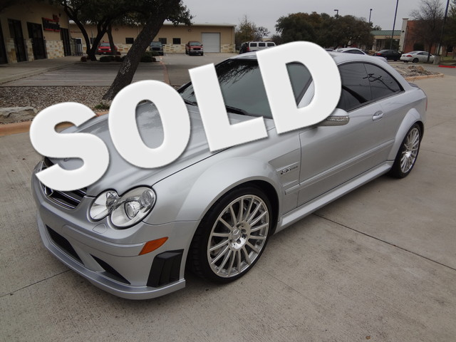 2008 Mercedes-Benz CLK63 6.3L AMG Black Series Austin , Texas 0