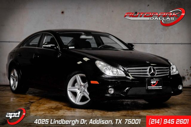 2008 Mercedes-Benz CLS550 5.5L AMG Package in Addison, TX 75001
