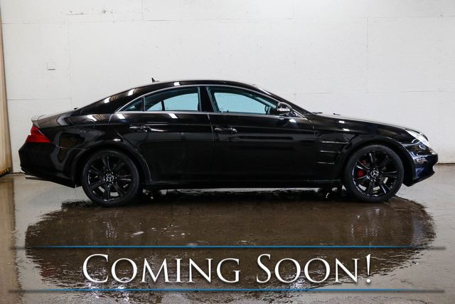 2008 Mercedes-Benz CLS550 Executive Sport Coupe with 5.5-Liter V8, Nav, Heated/Cooled Seats, Moonroof & H/K Audio Pkg in Eau Claire, Wisconsin 54703