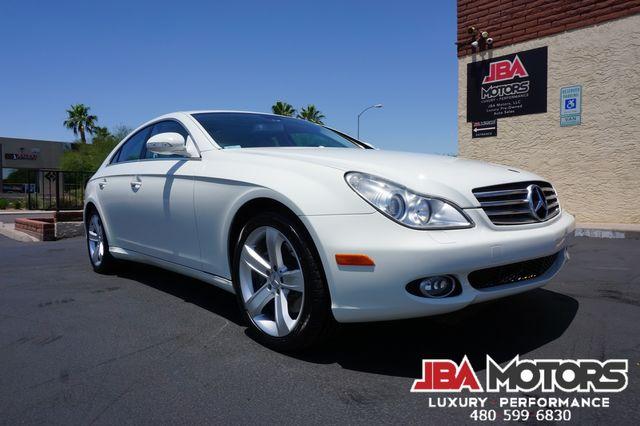 2008 Mercedes-Benz CLS550 CLS Class 550 Sedan ~ P2 Pkg 1 OWNER CLEAN CARFAX in Mesa, AZ 85202