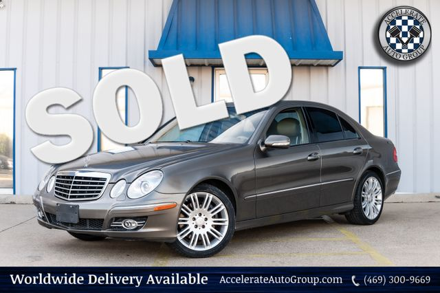 2008 Mercedes-Benz E-Class E 350 4MATIC AWD NAV LOADED TPMS PWR OPTS NICE!!! in Rowlett