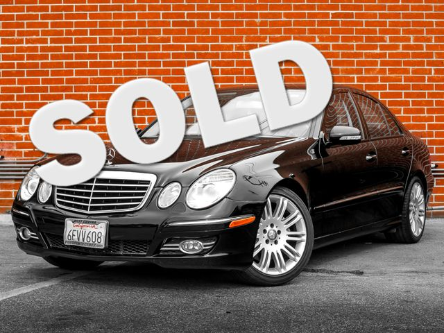 2008 Mercedes-Benz E350 Luxury 3.5L Burbank, CA 0