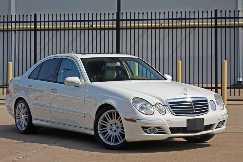 2008 Mercedes-Benz E350 Luxury 3.5L*Only 58k mi*Sunroof*Nav*Leather*   Plano, TX   Carrick's Autos in Plano TX