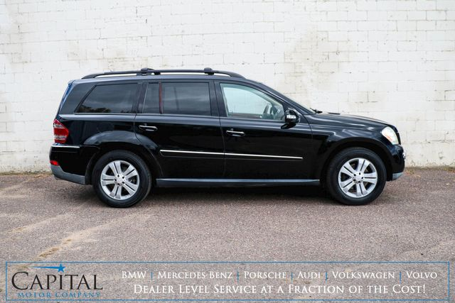 "2008 Mercedes-Benz GL450 4Matic AWD w/3rd Row Seats, Nav, Backup Cam, Heated Seats, Moonroof, 19"" Wheels & Tow Pkg in Eau Claire, Wisconsin 54703"