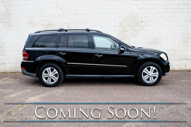 """2008 Mercedes-Benz GL450 4Matic AWD w/3rd Row Seats, Nav, Backup Cam, Heated Seats, Moonroof, 19"""" Wheels & Tow Pkg in Eau Claire, Wisconsin 54703"""