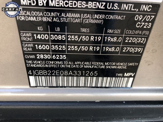 2008 Mercedes-Benz ML320 3.0L CDI Madison, NC 24