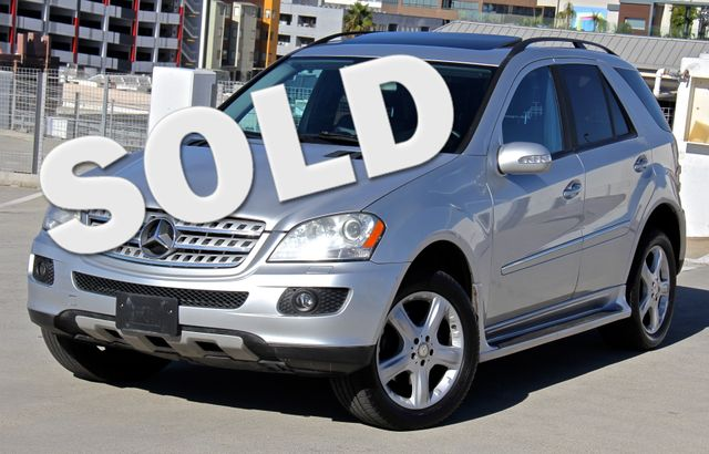 2008 Mercedes-Benz ML350 3.5L Reseda, CA 0