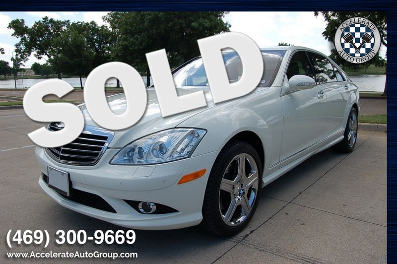 2008 Mercedes-Benz S550 CERTIFIED PRE-OWNED ONLY 12K MILES in Rowlett Texas