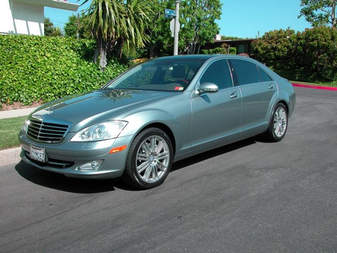2008 Mercedes-Benz S550 5.5L V8 in , California