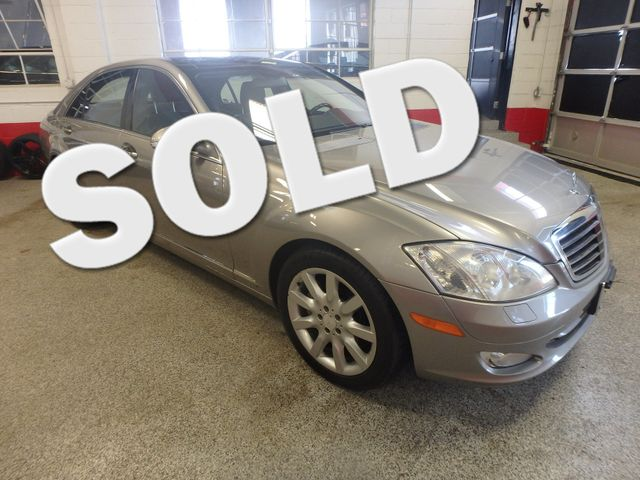 2008 Mercedes S550 4-Matic Beyond Loaded, Double Roof, Night Vision Camera Saint Louis Park, MN