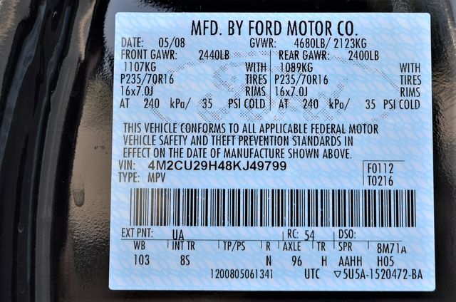 2008 Mercury Mariner Hybrid HYBRID in Reseda, CA, CA 91335