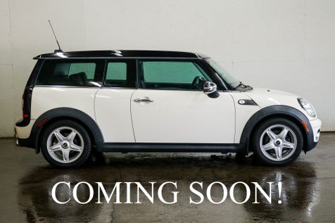 2008 Mini Cooper Clubman w/6-Speed Manual, Sport Pkg, Heated Seats, Panoramic Roof, Keyless Start & Hi-Fi Audio in Eau Claire