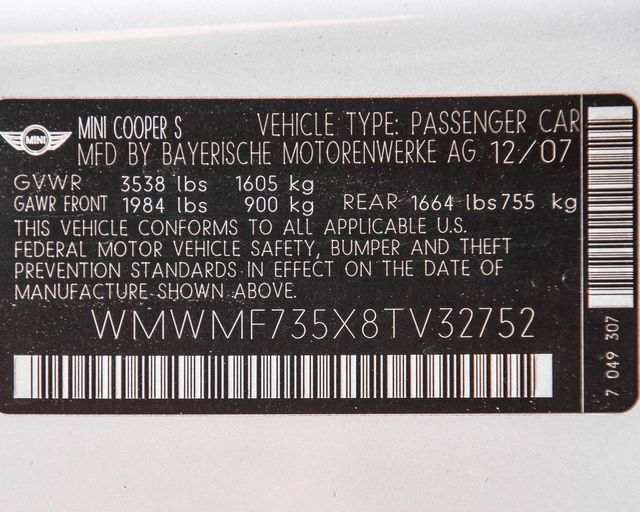 2008 Mini Hardtop S Burbank, CA 33