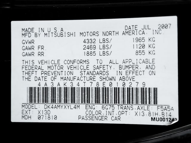 2008 Mitsubishi Eclipse GT Burbank, CA 24