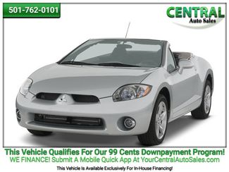 2008 Mitsubishi Eclipse GS   Hot Springs, AR   Central Auto Sales in Hot Springs AR